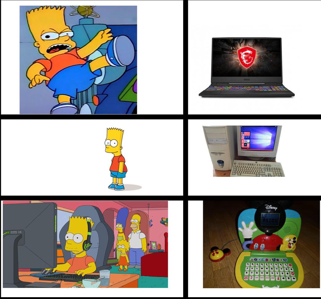 El michey ordenador es lo mejor - meme