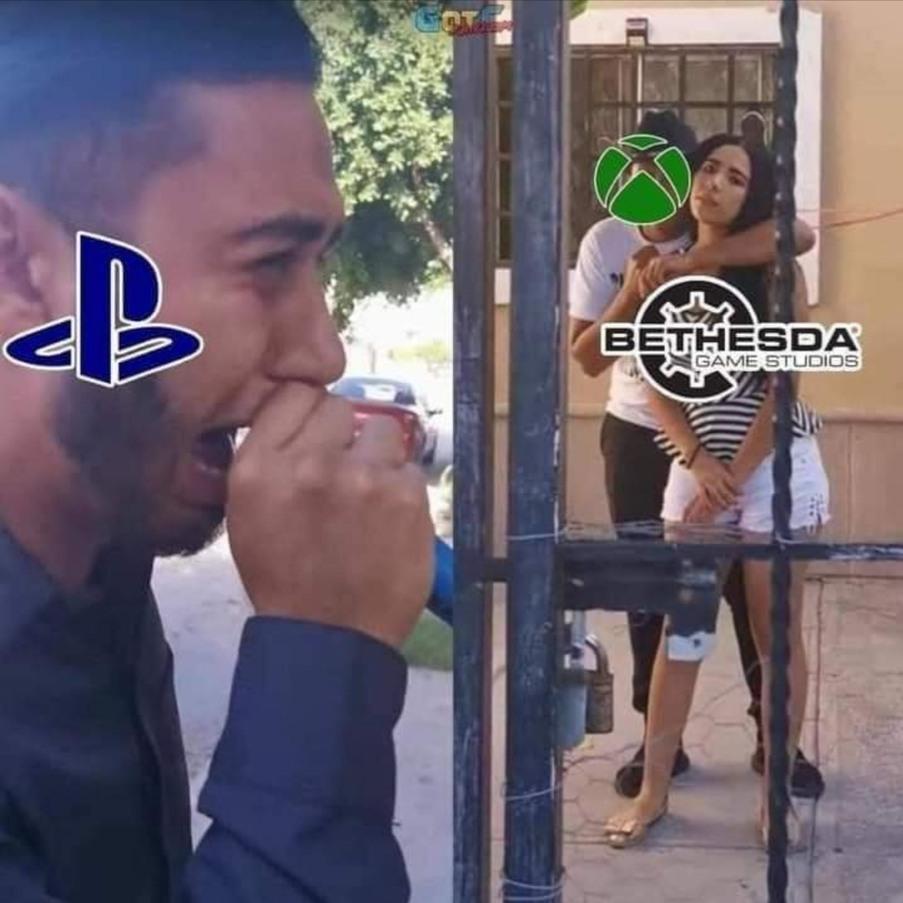 Sony big sad - meme