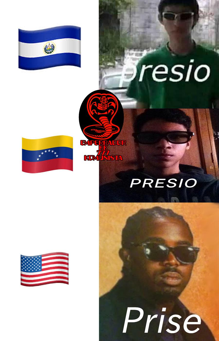en serio que puta risa el presio fuera de bromas no paro de reir con la maldita cara de the cooler daniel con el prise ese coño mano venezuela pobresita me hace reir con la cara de homosexual reprimido - meme