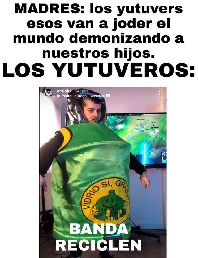 banda reciclen - meme