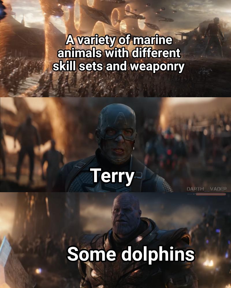 Godspeed, Terry - meme