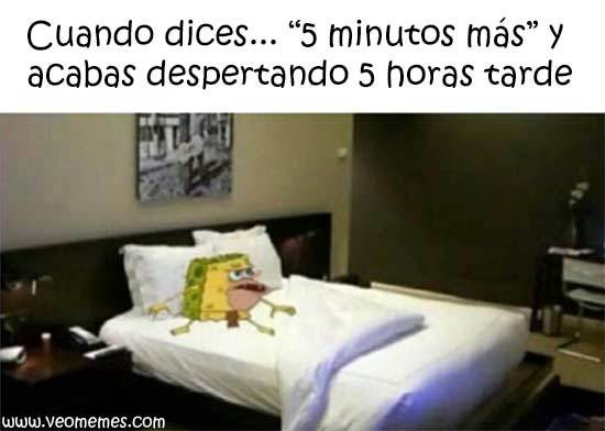 5 minutos - meme
