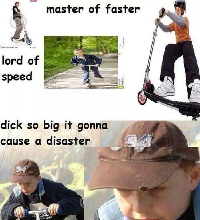 too fast - meme