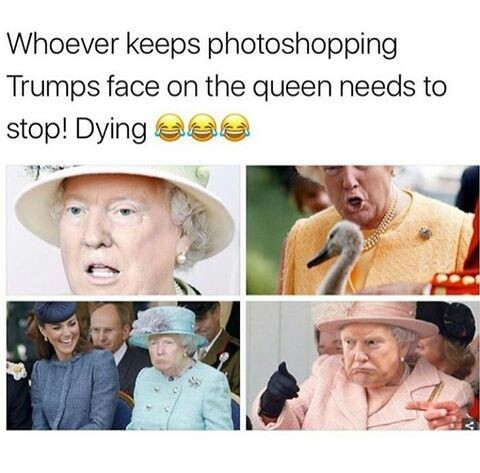 Queen Trump - meme