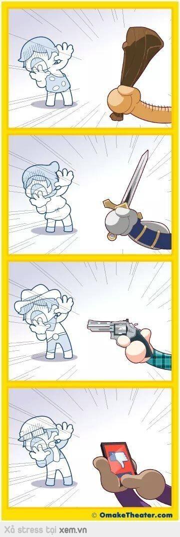 L'évolution des armes létales - meme