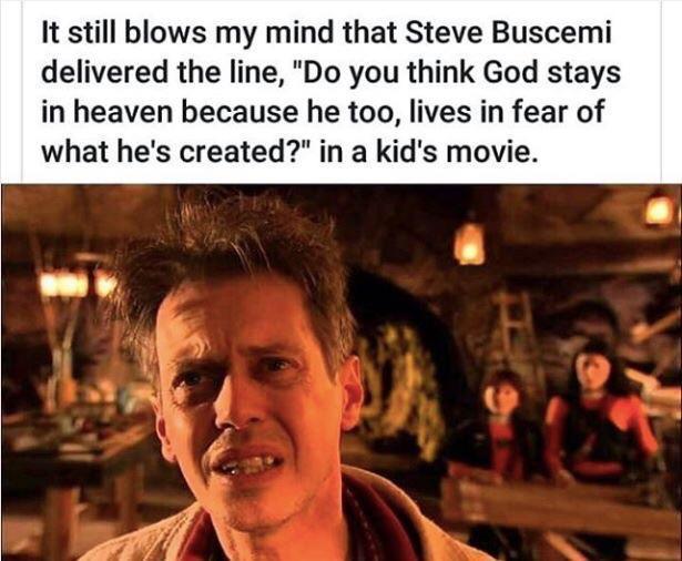 The best line of Steve Buscemi - meme