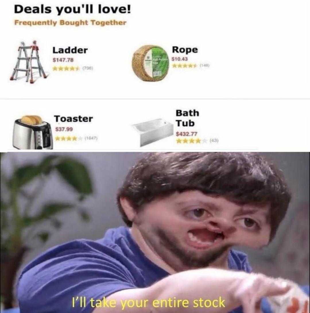 Thanks amazon - meme
