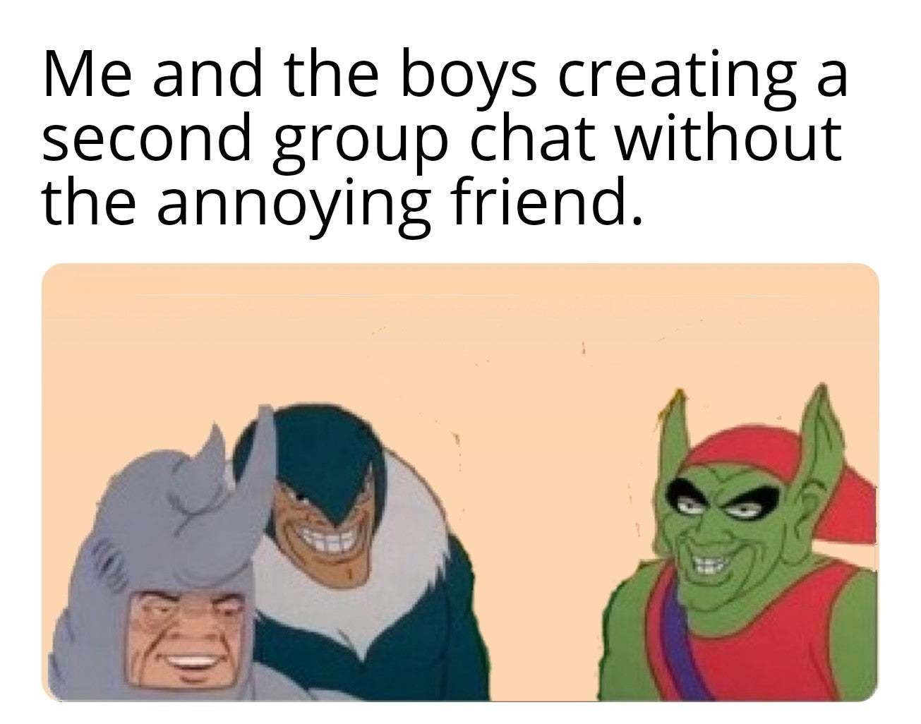 Smart bois - meme