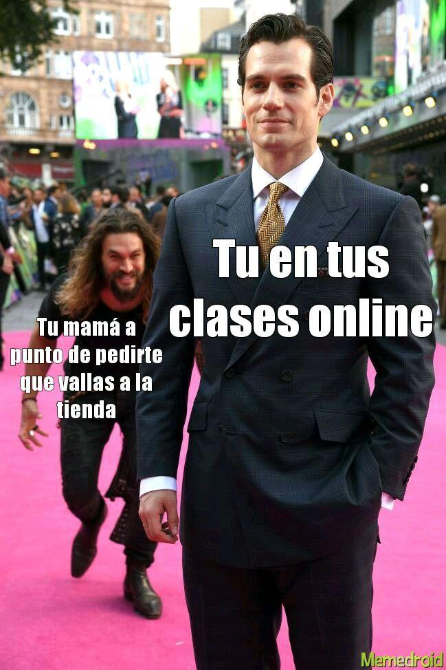 Clases online - meme