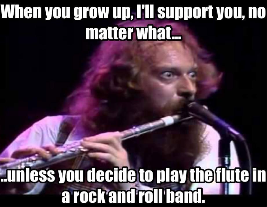Flute Rock - meme
