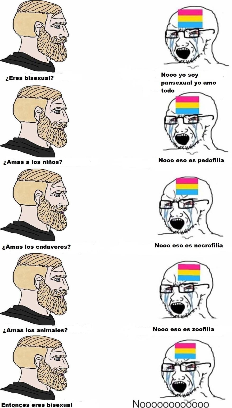 Pansexuales - meme