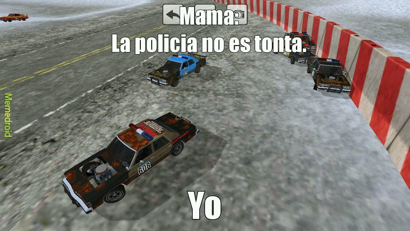La policia - meme