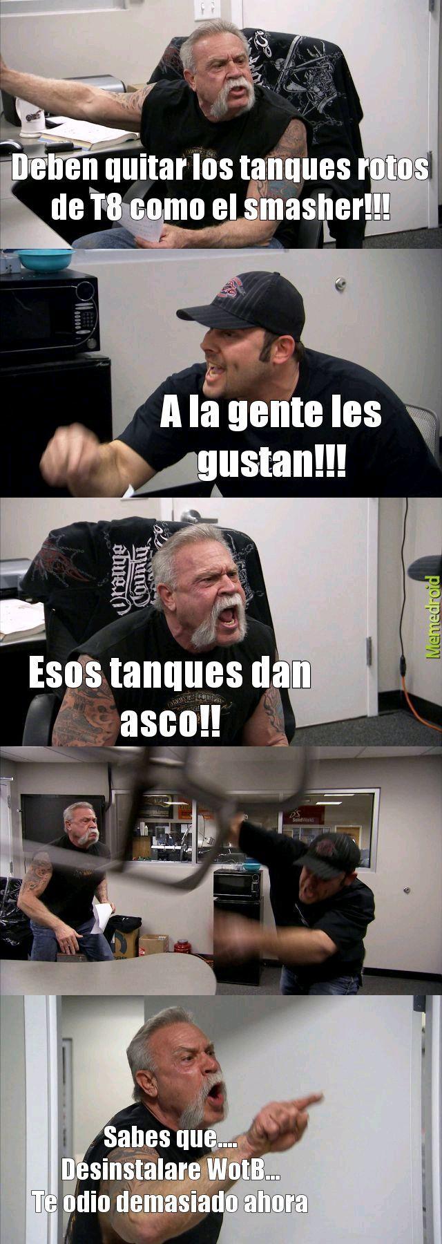 Cosas de WotB - meme