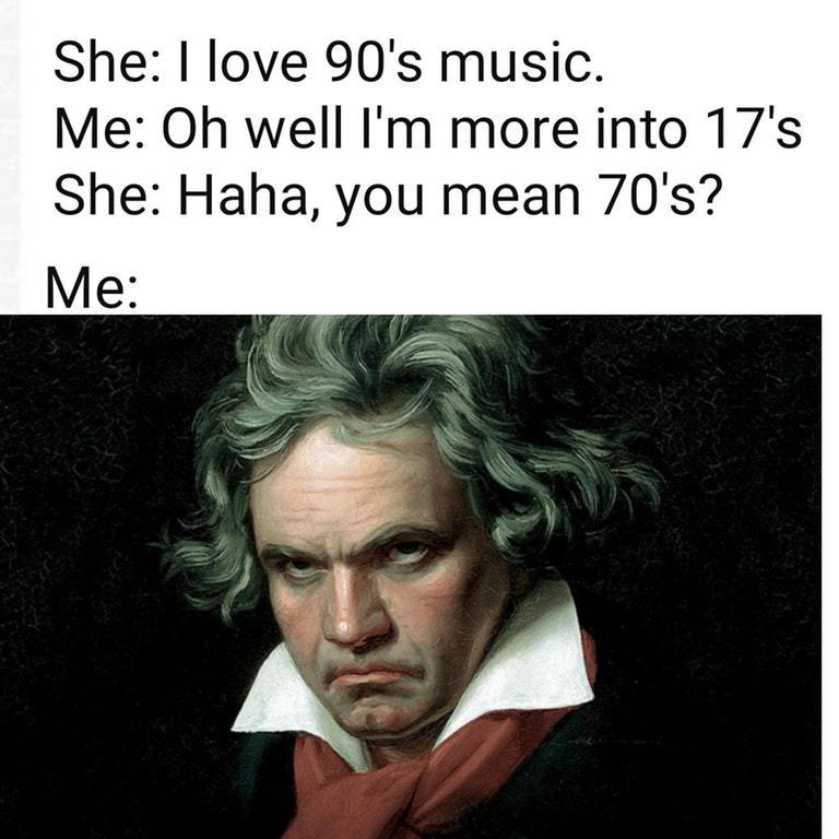 Classical music - meme