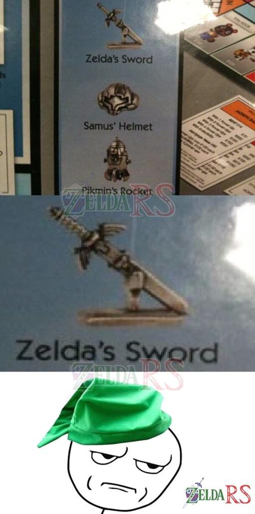 Zelda é o... - meme