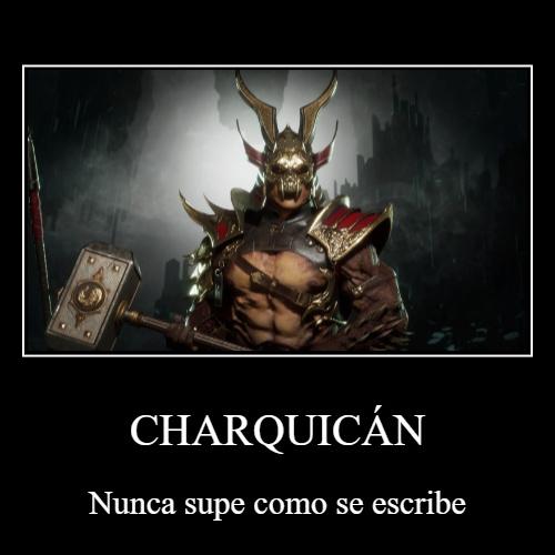 Si Scorpion pone el mate, Shao Kahn pone el tereré - meme