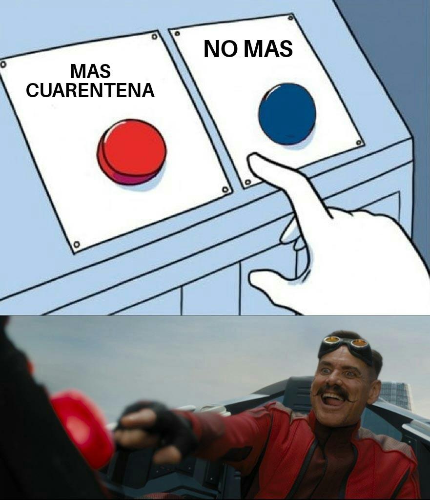 La cuarentena - meme