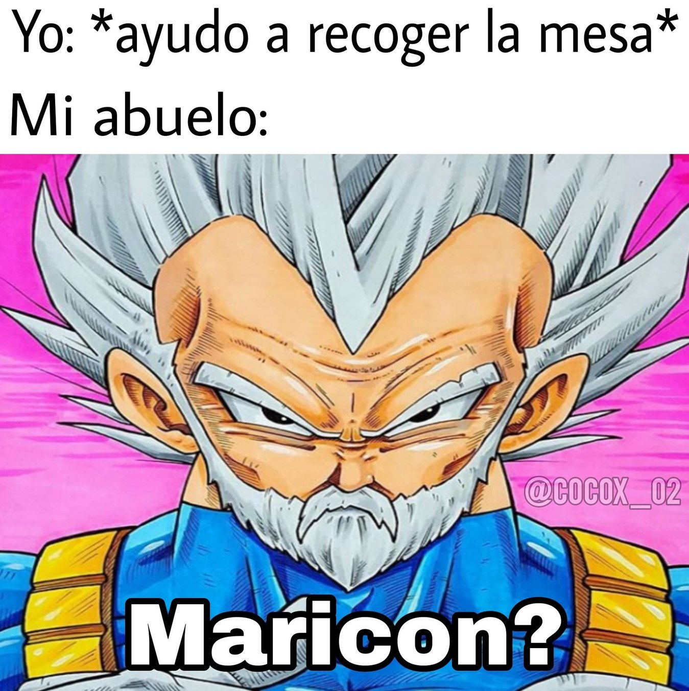 Maricon - meme