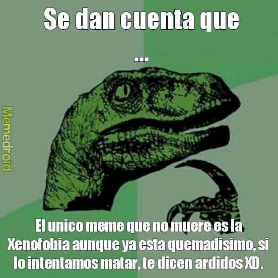 Bruh, ya esta super quemado lo de las Narizes Argentinas y Monos Mexicanos XD - meme