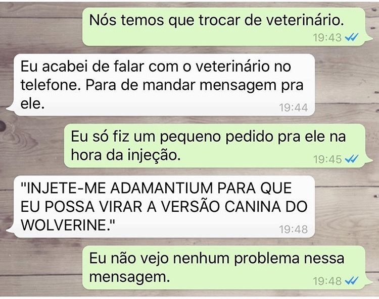 cachorro com whatsapp - meme