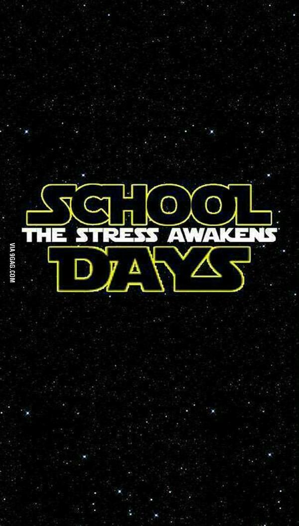 The stress awaken. - meme