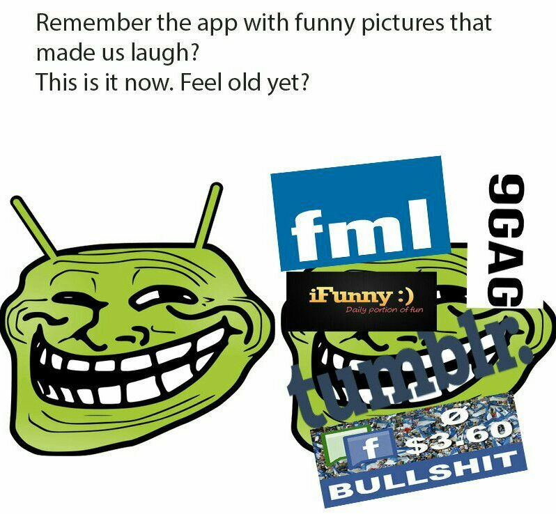 Am old. - meme