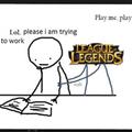Personnellement c'est ce qui m'arrive très souvent quand je veux jouer à lol (・ω・)ノ