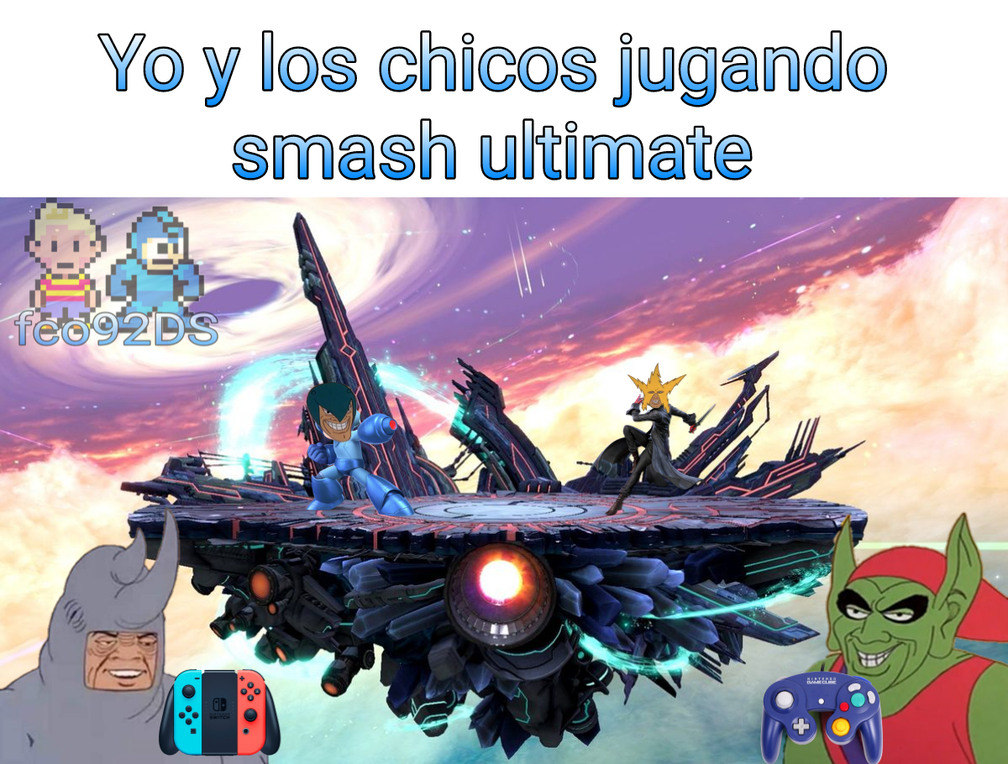 Otro meme de smash xd :happy: