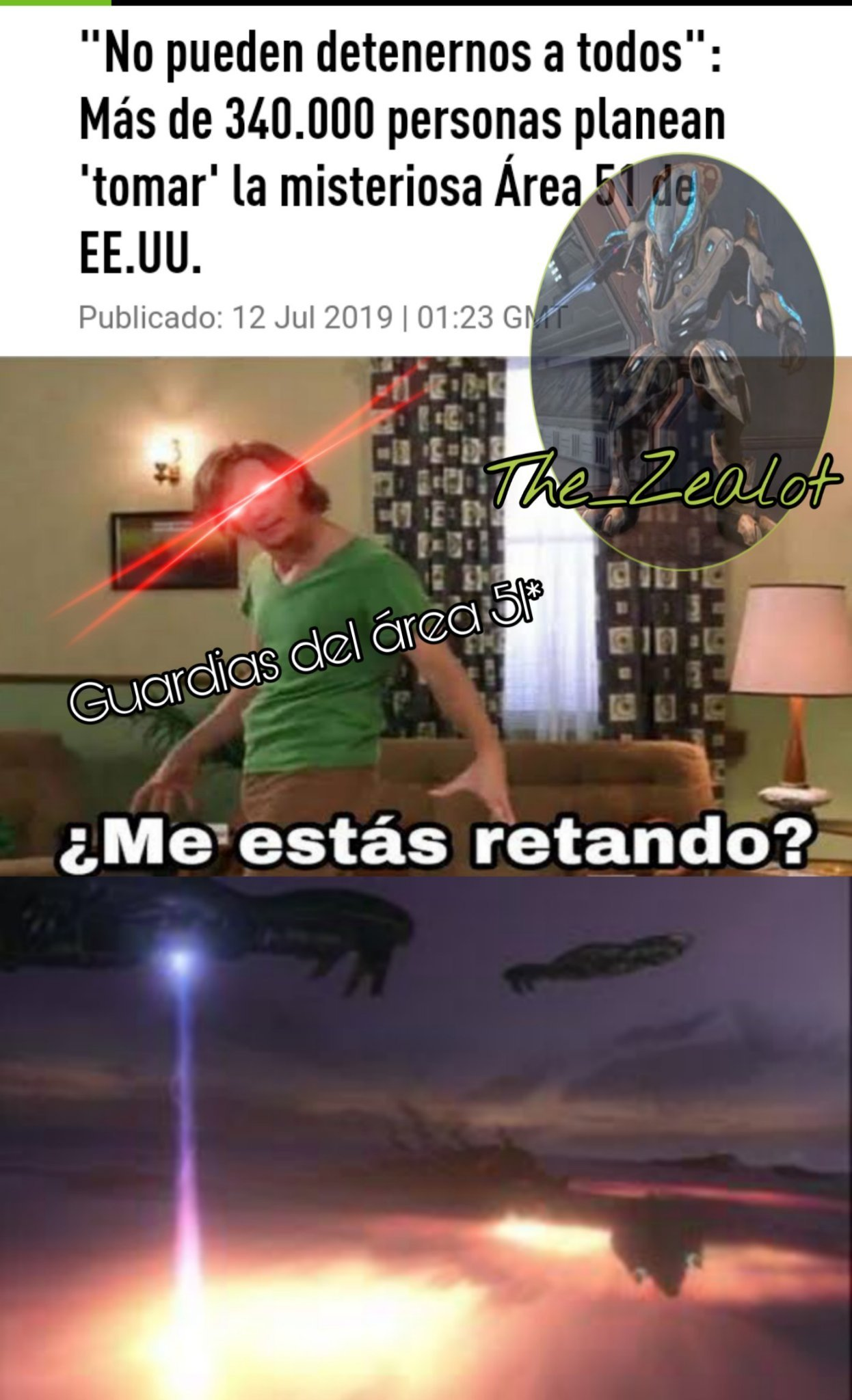 Área 51 - meme
