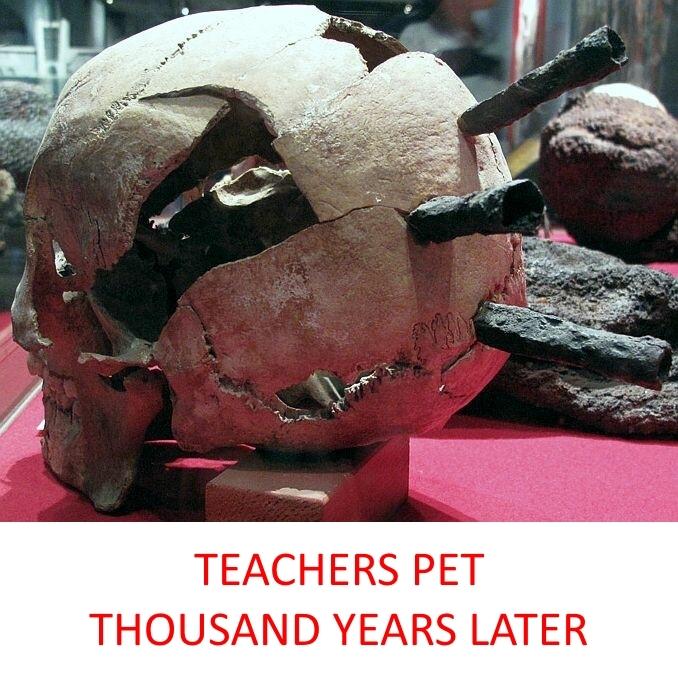 teachers pet thousand years later - meme