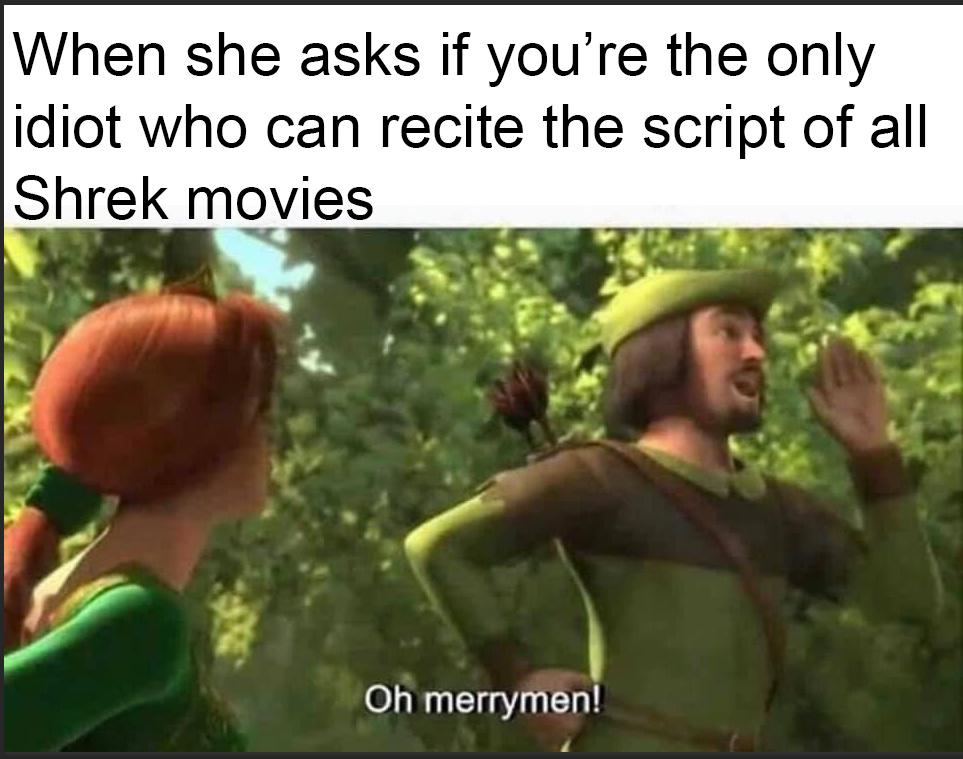 So Shrek - meme