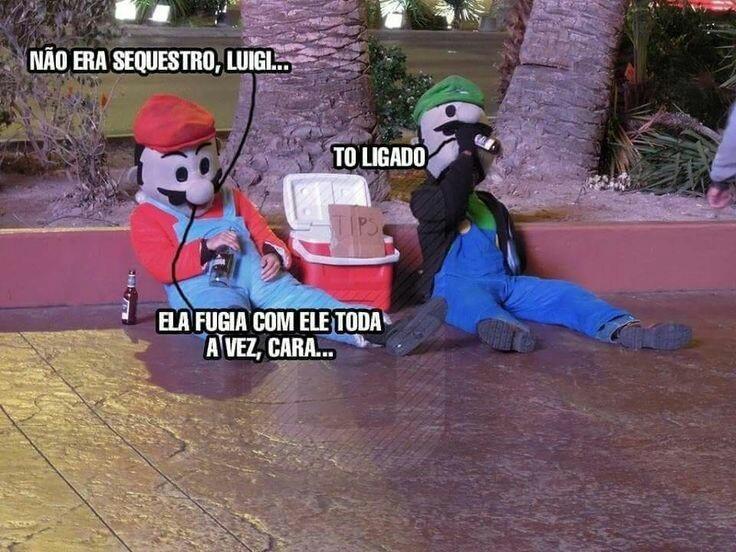 Its Mario - meme