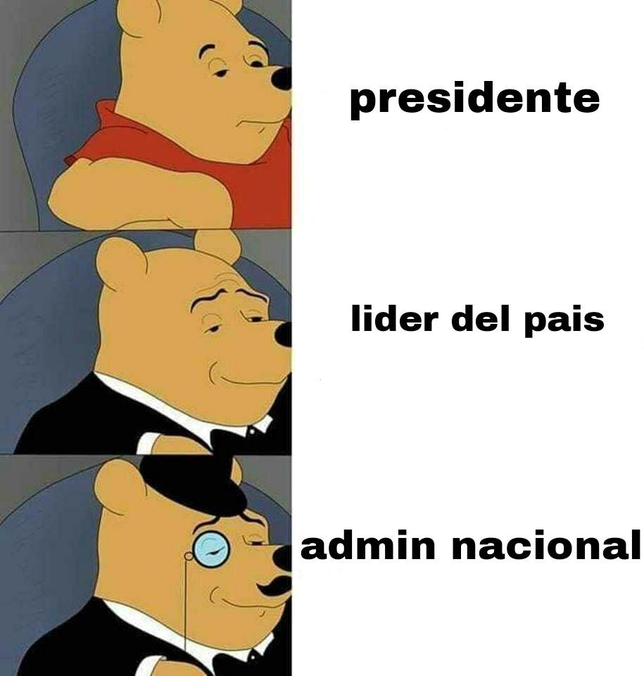 Hail admin - meme