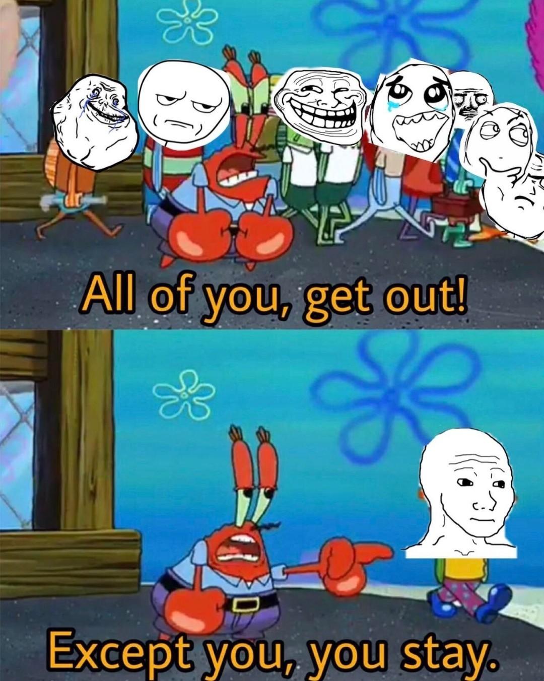 """Are you """"feelin it"""" now Mr.Krabs? - meme"""
