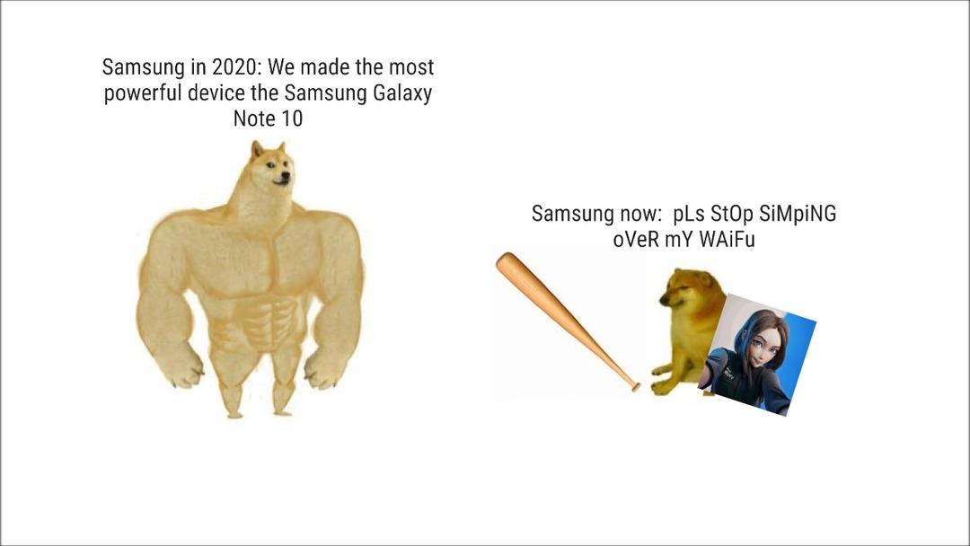 Samsung greatest failure or mistake? - meme
