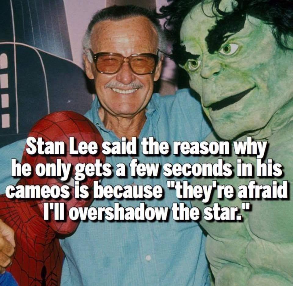 Stan Lee is great - meme