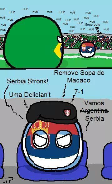 Vamos arg.. Serbia carajo!! - meme
