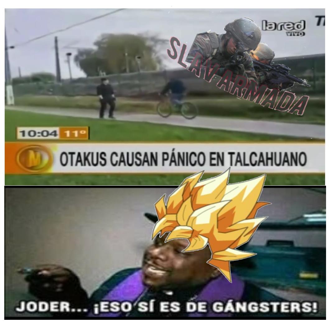 Poder otaku - meme