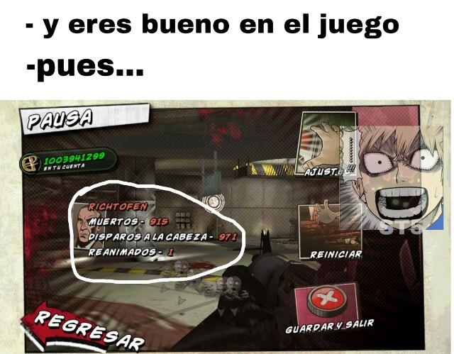 Carlos duty:zombis - meme