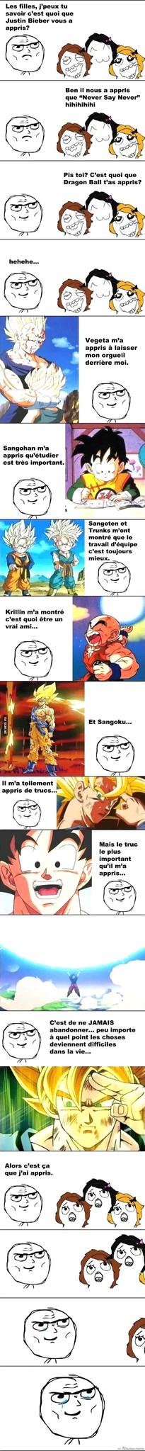 Dragon ball c'est la vie !! - meme