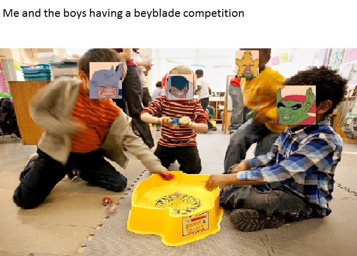 Me and the boys are betting our souls in this competition - meme