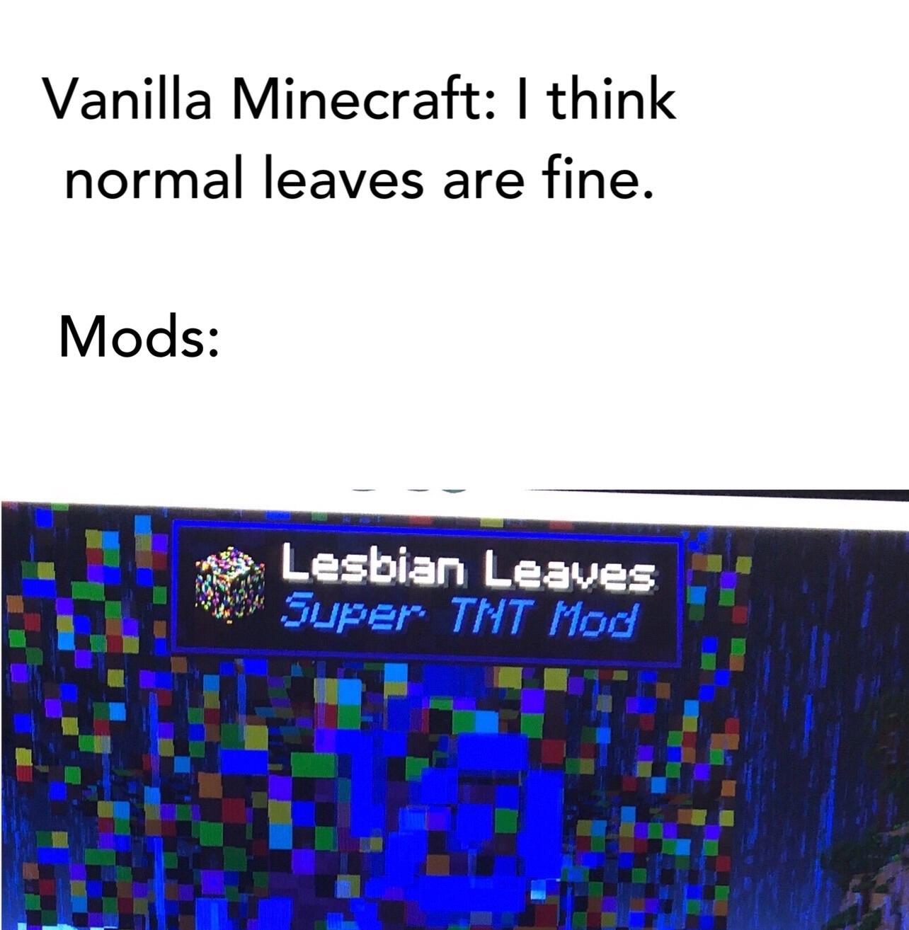 Lesbian Leaves - meme