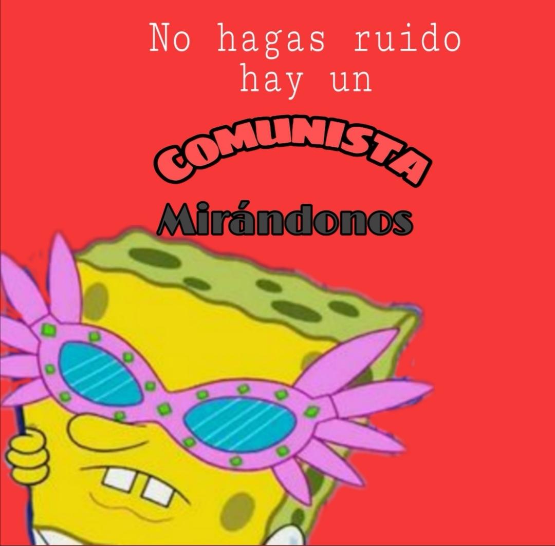 El comunismo es como la lluvia primero te parece bueno luego lo ves más y te parece aún mejor - meme