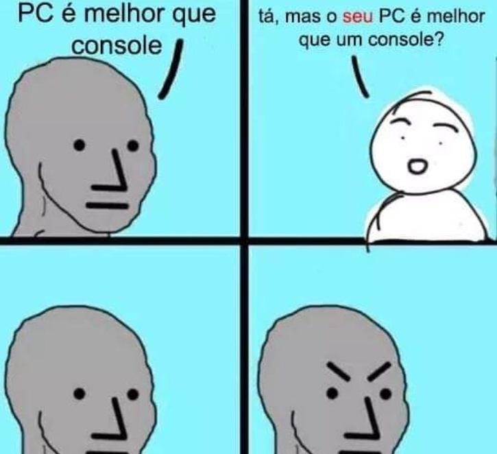 pcfag refutado - meme