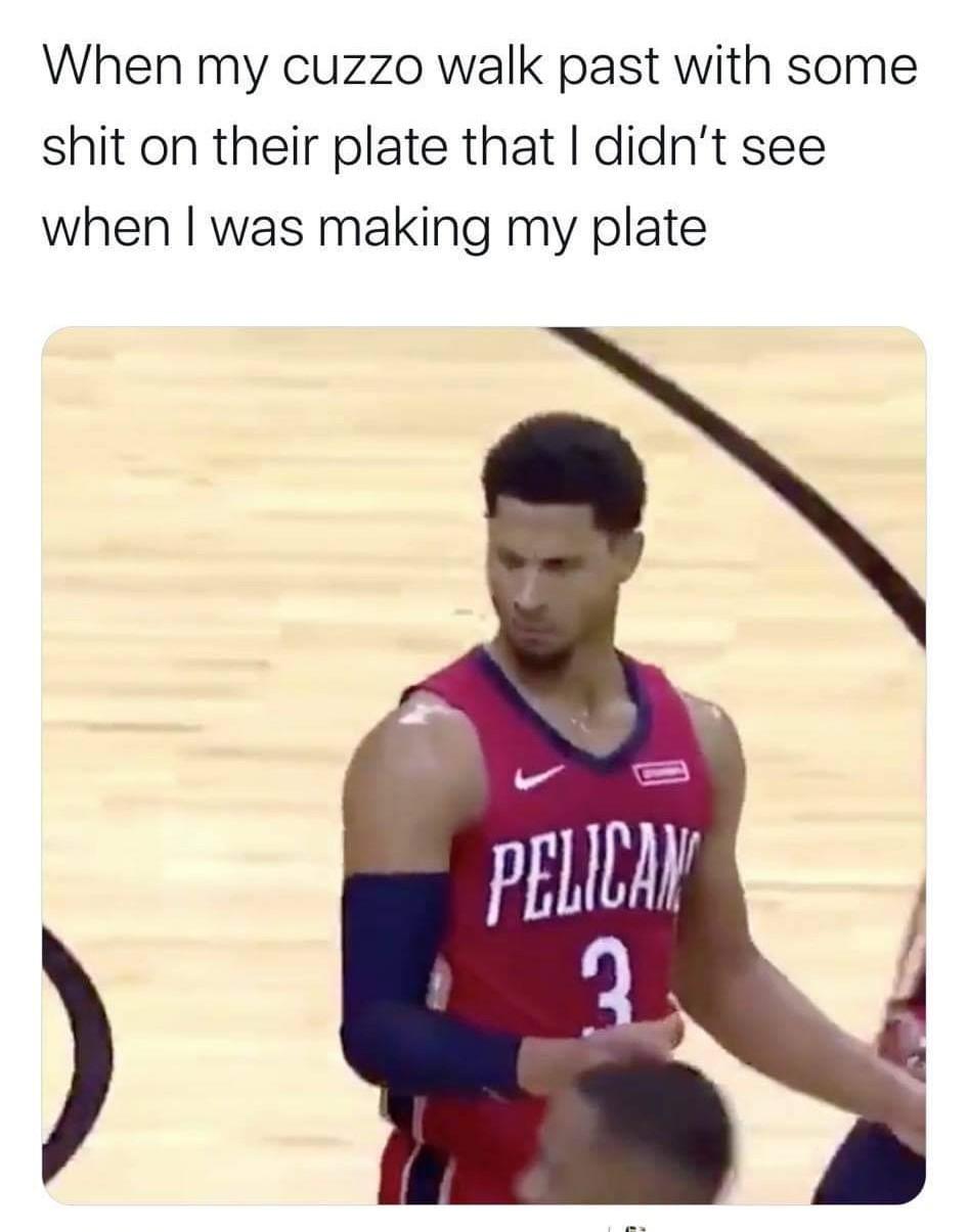 The cake in the fridge - meme