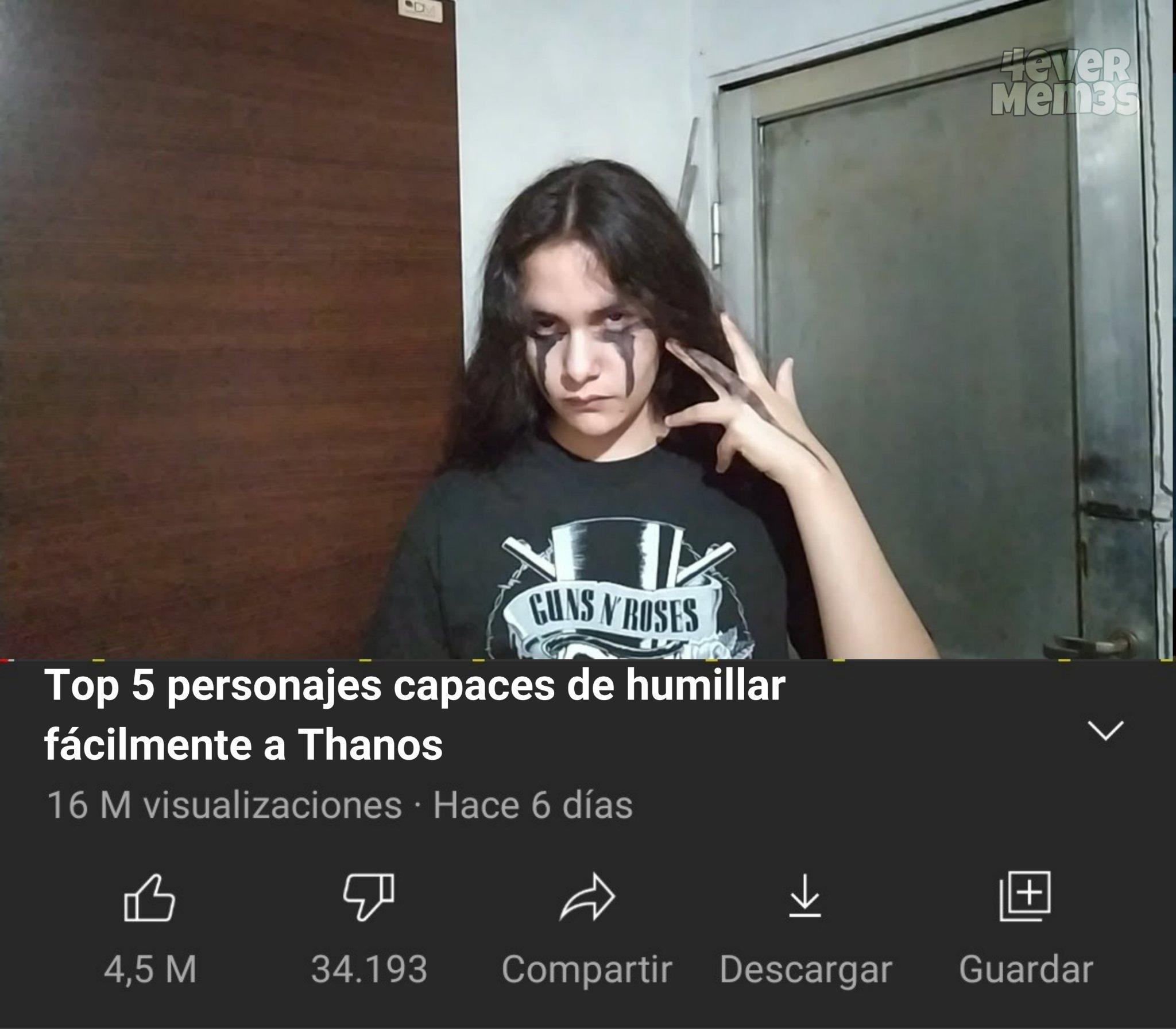 Thanos... - meme