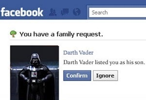 YOUR NOT MY FATHER!!!