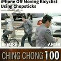 Damn asians. They're even better at stealing