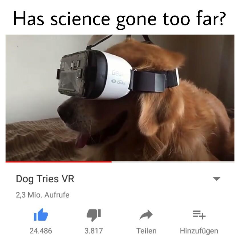 Super VR Doggo - meme