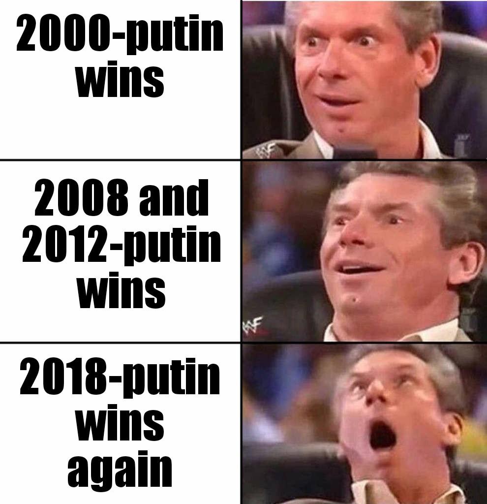 Invincible putin - meme